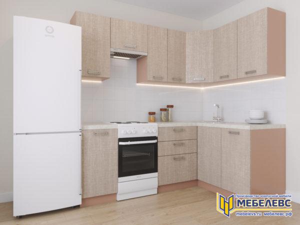 Модульная кухня «Лада» Артекс ЛДСП Имбирь