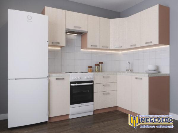 Модульная кухня «Лада» Артекс ЛДСП Кремовый