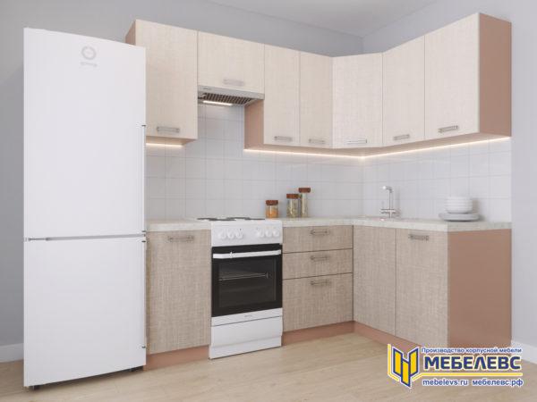 Модульная кухня «Лада» Артекс ЛДСП Имбирь/Кремовый