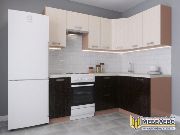 Модульная кухня «Лада» Артекс ЛДСП Кремовый/Арабика