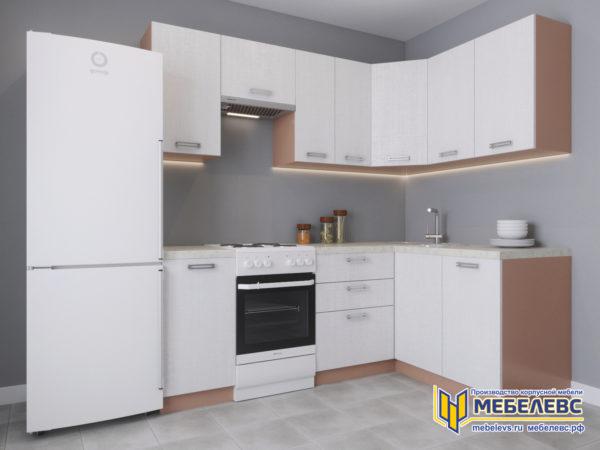 Модульная кухня «Лада» Артекс ЛДСП Белоснежный
